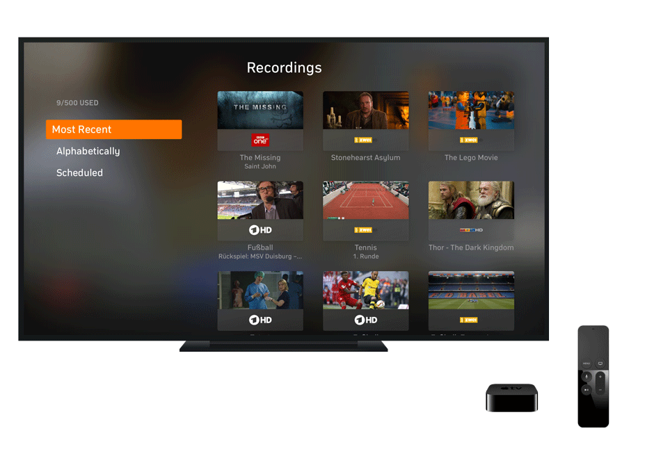 Steps To Watch TV On Your Apple With The Zattoo App