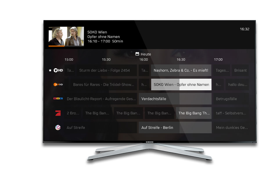 Get Zattoo and watch TV on every device you like.