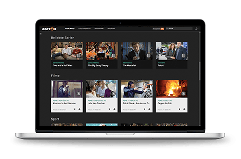 On Demand Videos bei Zattoo streamen