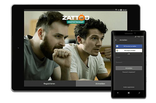 With Zatto free you have storage for 20 programmes in you personal list.