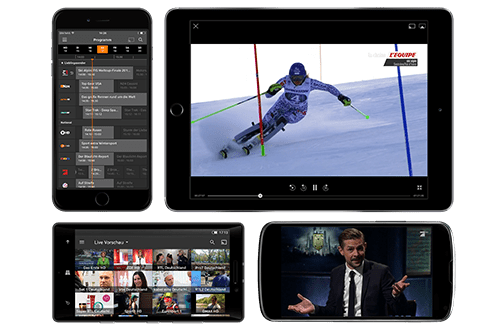 Watch TV everywhere you want for free with Zattoo.