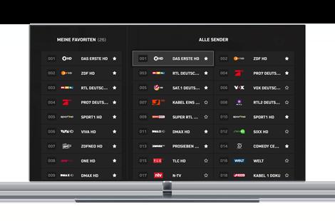 Samsung Smart TV App – Über 100 Sender - Zattoo
