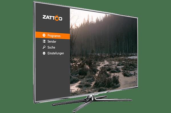 mit zattoo app auf samsung smart tv ber 190 tv sender. Black Bedroom Furniture Sets. Home Design Ideas