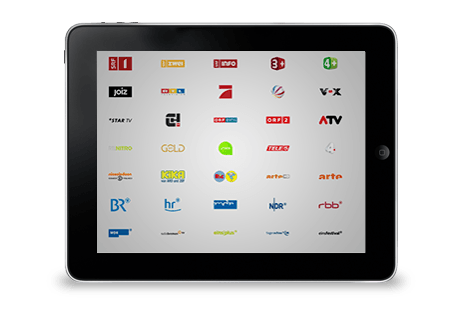 Huge selection of TV channels free of charge for you!