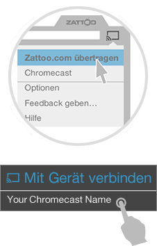 Live TV with Google Chromecast and Zattoo