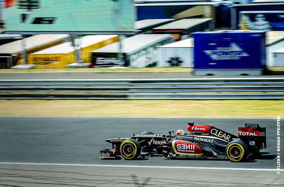 Formel 1 live streamen - Zattoo